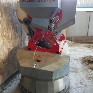Premier robot agricole de distribution